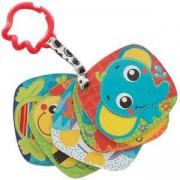 Бебешка играчка - Картонена Книжка С Различни Повърхности, Play Gro, 0794519