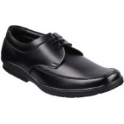 Twin Jumbo Lacing Lace Up Shoes For Men(Black)