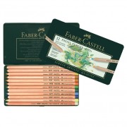 Creioane colorate Pastel Pitt 12 culori Faber-Castell