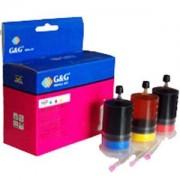 Мастило HP DJ 800 - Series 51641A/C1823D/6625D/6578/ - color 3x20 - (NR-H0015 CMY)