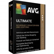 AVG Ultimate 2020 Multi Device z VPN 5 Urządzeń 2 Lata