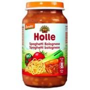 Holle bio bébiétel, bolognai spagetti 220 g