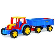 Wader - Gigant traktor utánfutóval