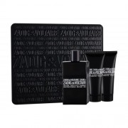 Zadig & Voltaire This is Him! подаръчен комплект EDT 100 ml + душ гел 2 бр x 75 ml за мъже