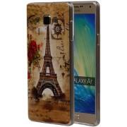 Samsung Galaxy A7 2015 A700F Hoesje Eiffeltoren TPU
