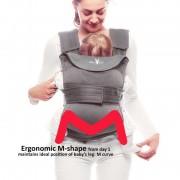 Marsupiu ergonomic Easy comfort Moonless night Wallaboo