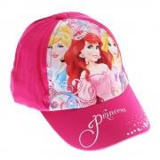 Детска шапка Принцесите на Дисни цикламена
