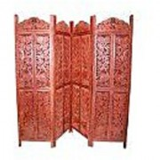 Shilpi Wooden Partition (Mango Wood)/ Room Divider/Screen