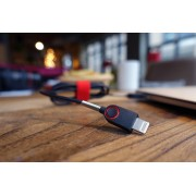 Hometime O2 Homtime O2 Super Durable Lightning Cable 1 m Black