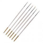ELECTROPRIME® 6Pcs Paint Brushes Set Artist Painting Brush Artists Art Craft Hook Line Pen