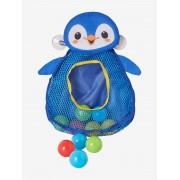 VERTBAUDET Pinguim com bolas azul medio liso com motivo