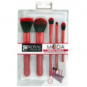 Moda Perfect Mineral Set Pensule 6 piese Rosu