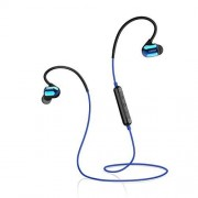 Edifier W295BT Plus IPX5 Water Resistant Bluetooth Earphones Volume and Playback Controls Blue