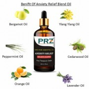 PRZ ANXIETY RELIEF BELIEVE BLEND ESSENTIAL Oil (30 ML) Pure Therapeutic Grade