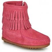 Minnetonka DOUBLE FRINGE SIDE ZIP BOOT Schoenen Laarzen meisjes laarzen kind