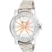 ismart Sliver Fancy Sport Diamond Studded Women Analog i6 Wrist Watch