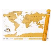 SERO Scratch World Map - SCRATCH KART