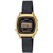 Casio La670wemb-1df Orologio Donna Quadrante Digitale Cassa E Cinturino In Acciaio Colore Nero / Oro - La670wemb-1df Retro