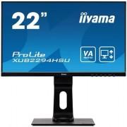 """IIYAMA ProLite XUB2294HSU-B1 - LED-monitor - 22"""" (21.5"""" zichtbaar) - 1920 x 1080 Full HD (1080p) - VA - 250 cd/m² - 3000:1"""