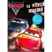 Disney Pixar - Masini 3. La viteza maxima. 32 de planse de colorat