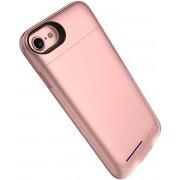 Roze smart batterij hoesje / battery case met stand functie voor Apple iPhone 6 / 6s en Apple iPhone 7