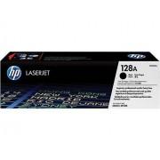 HP 128A svart ursprungliga LaserJet tonerkassett (CE320A)