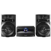 Sistem audio Panasonic SC-UX100E-K, 300 W, CD, Radio, Bluetooth, Negru