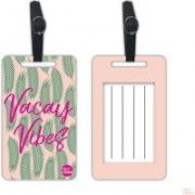 Nutcaseshop Vacay Vibes Luggage Tag(Multicolor)