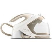 Statie de calcat Philips PerfectCare Performer GC8750/60, 2600 W, 1.8 l, 420 g/min, Talpa SteamGlide (Alb/Auriu)