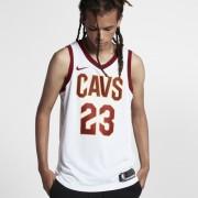 Maillot connecté Nike NBA LeBron James Association Edition Swingman (Cleveland Cavaliers) pour Homme - Blanc