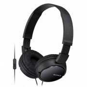 Sony MDRZX110AP Auriculares serie ZX con microfono negro