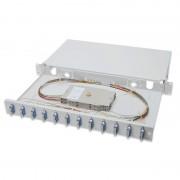 Digitus Caixa de Distribuição de Fibra Óptica Equipado SC OS2