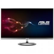 "ASUS MX25AQ 25"" Wide Quad HD LED Black, Grey computer monitor LED display"