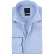 Profuomo Hemd Cutaway Blue Checks - Blau 43