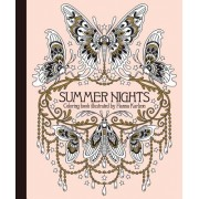 "Summer Nights Coloring Book: Originally Published in Sweden as ""Sommarnatt"""