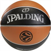 Spalding Basketball EUROLEAGUE TF 500 (Indoor/Outdoor) - orange/schwar