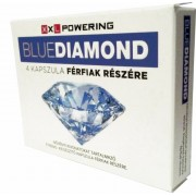 BlueDiamond - étrend-kiegészítő kapszula férfiaknak (4db)