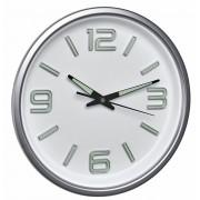 Стенен часовник - безшумен, фосфоресциращи стрелки - 60.3040