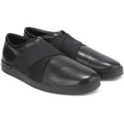 Clarks Stanway Easy Black Leather Casual For Men(Black)