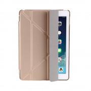 Shop4 - iPad 9.7 (2018) Hoes - Origami Smart Book Case Goud