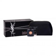 Yves Saint Laurent Black Opium set cadou EDP 50 ml + Crema de corp hidratanta 50 ml + geanta pentru femei