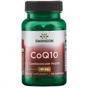 Swanson Koenzym Q10 60 mg 120 kapslí