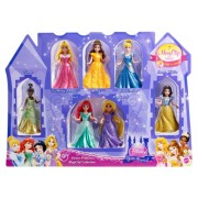 Disney Princess Magic Clip Little Kingdom 7 pack Doll Set