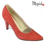 Pantofi dama din piele naturala 241507/103/Rosu/Dafina