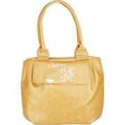 Caterfly Women's Stylish PU Leather Brown Adjustable Strap Hand Held Tote & Sling Bag / Shoulder Bag Waterproof Shoulder Bag(Brown, 14 L)