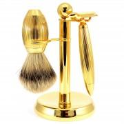 Benjamin Barber Goldfarbenes Imperial XT Barber Rasierset