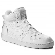 Обувки NIKE - Court Borough Mid (GS) 839977 100 White/White/White