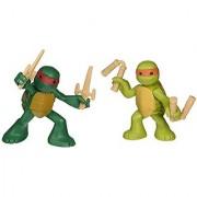 Teenage Mutant Ninja Turtles Ninjas in Training Michaelangelo and Raphael Action Figures