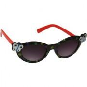 Redex Black Color Stylish Cat-Eye Women's Sunglasses