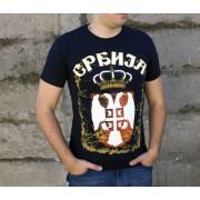 Majica Srbija Teget